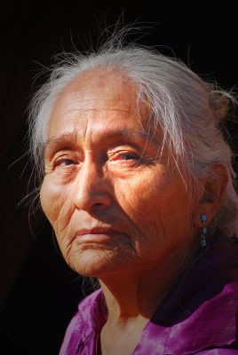 Elderly Navajo woman